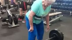 Watch 78-Year-Old Grandmother Deadlift 100 Kilos Like A