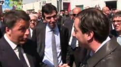 Selfie, contestazioni e colloquio con un prof: Renzi show al