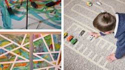 10 Indoor Activities You Can Do With A Roll Of
