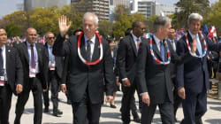 Dion Pledges Renewed Anti-Nuke Effort After Visiting