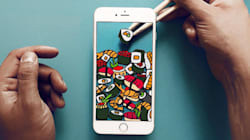 Un artista convierte el iPhone en cualquier objeto