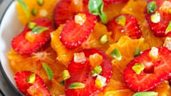 Vite fait, bien fait: fraises à l'orange et aux