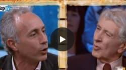 Scontro Travaglio-Augias in tv:
