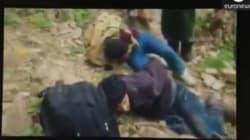 Des civils bulgares filmés en train de ligoter des migrants