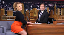 Amy Schumer Addresses Glamour 'Plus-Size' Feud On 'Tonight