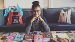 Esta menina de 11 anos montou uma biblioteca de 4000 livros só com personagens