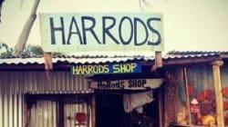 Le célèbre magasin Harrods se moque d'une boutique