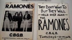 Une exposition célèbre les liens entre les Ramones et le quartier