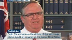MP Breaks Down In Tears As He Announces Help For Sacked QLD Nickel