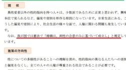 「婚姻は、両性の合意のみに基づいて成立」という言葉を入れ込んだ、東京都人権指針への違和感