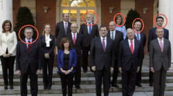 Los cinco ministros caídos de