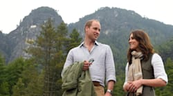 Will And Kate Hike The Himalayas To Reach Majestic
