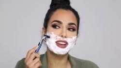 Cette maquilleuse se rase le visage... et selon elle, vous devriez aussi!