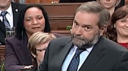 Mulcair Makes Question Period