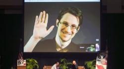 Edward Snowden dans un duo avec Jean-Michel Jarre