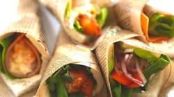 人気継続中のサンドイッチ...サンドしない「ブーケサンド」が春にぴったり♪