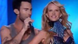 WATCH: Adam Levine, Victoria's Secret Models Move Like