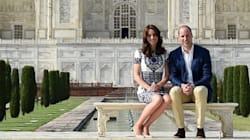 William And Kate Lovingly Recreate Princess Diana's Iconic Taj Mahal