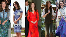 All The Looks From The Duchess Of Cambridge's India And Bhutan
