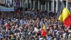 7000 Bruxellois dans la rue en hommage aux victimes et