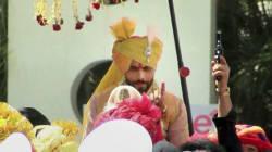 Round Of Shots At Cricketer Ravindra Jadeja's Wedding Draws The