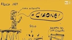 Le vignette di Makkox sono la risposta perfetta alla gaffe di Carbone su