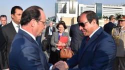 Hollande torna dal Cairo con 1,7 miliardi di euro in