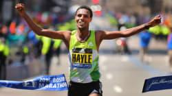 Marathon de Boston: victoire de l'Éthiopien Berhanu