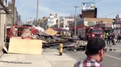 Un échafaudage s'écroule à Toronto: sept personnes à l'hôpital