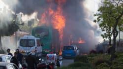 21 blessés après l'explosion d'une bombe dans un bus à