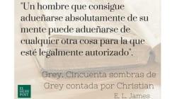 'Grey', 'La chica del tren' o 'Cicatriz', las frases de libros más subrayadas en Kindle en