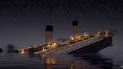 Per la prima volta con questa animazione vivrete la tragedia del Titanic in tempo