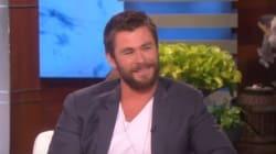 La risposta di Chris Hemsworth alla figlia che vuole un pene è