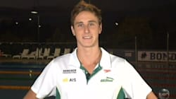 Swimmer Cameron McEvoy Really Enjoyed Choosing Between NASA And The