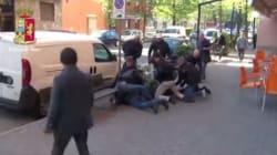 L'inseguimento e poi l'arresto: la rapina sembra un