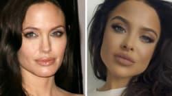 Angelina Jolie's Latest Doppelgängerr Is A Kylie Jenner Lip Gloss
