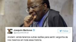 Joaquim Barbosa sobre votação do impeachment: 'De chorar de
