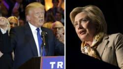 Trump et Clinton gagnent les élections primaires de New