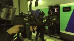 L'exercice antiterroriste grandeur nature des BRI, GIGN et Raid à