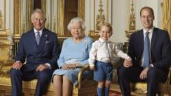 El mejor meme de la foto de Isabel II y sus herederos por su 90º