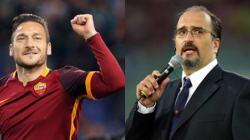 Totti fa vincere la Roma al 90' e il telecronista tifoso scoppia in