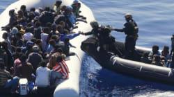 Les arrivées de migrants (et les risques de naufrage)