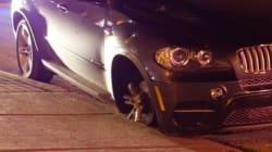 Les policiers poursuivent une voiture volée... sans