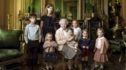 ¿Quién es quién en la foto de los 90 años de Isabel