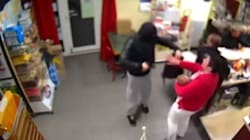 Heroic Woman Puts Down Baby To Fight Off Armed