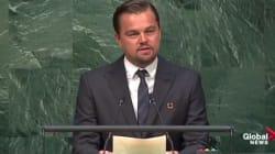 Pour DiCaprio, l'accord sur le climat est aussi historique que l'abolition de