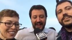 Salvini e Pivetti cantano Mila e