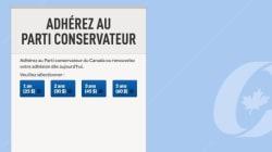 Le Parti conservateur baisse ses frais