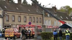 Forte explosion à Nonancourt en Normandie, un