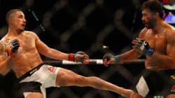 Aussie Wins At UFC Despite Breaking Hand During
